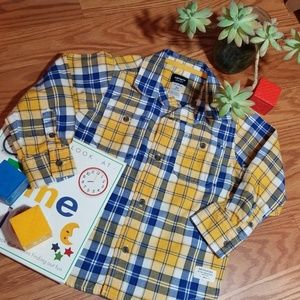 Carters button up dress and size 3t